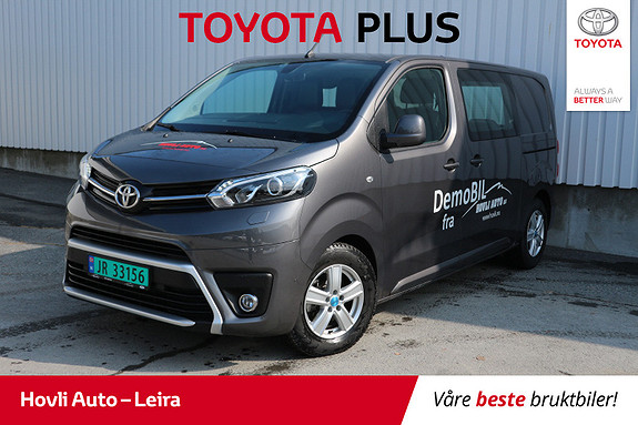 Toyota Proace 1,6 D 116 Comfort L1H1 // H.feste // Komfortvegg //  2018, 8800 km, kr 299900,-