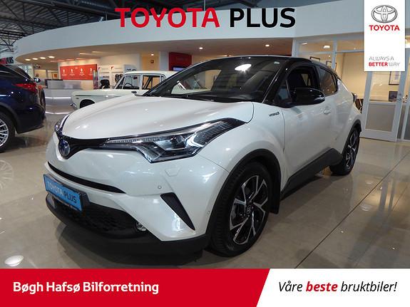 Toyota C-HR 1,8i Hybrid Dynamic Tech m/Bi-LED og Navi  2018, 9200 km, kr 349000,-