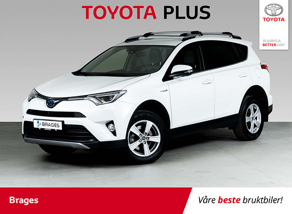 Toyota RAV4 Hybrid 4WD Executive DAB+, RadarCrusie, BT, 360 kamera  2017, 29500 km, kr 415000,-