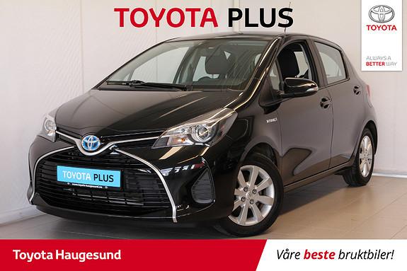Toyota Yaris 1,5 Hybrid Active S e-CVT  2015, 16200 km, kr 169000,-