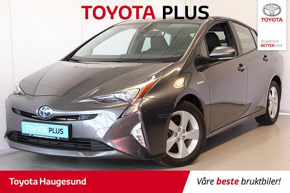Toyota Prius 1,8 VVT-i Hybrid Executive Skinn, Hengerfeste, HeadUp  2016, 8483 km, kr 265000,-