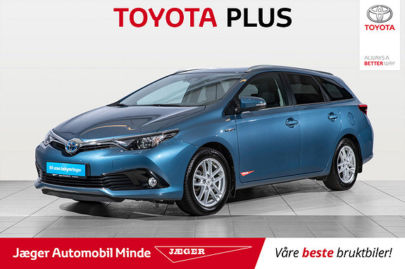 Toyota Auris Touring Sports 1,8 Hybrid Active Sport  2017, 37700 km, kr 249000,-