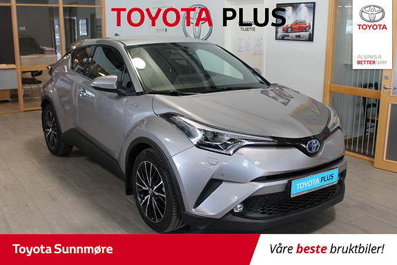 Toyota C-HR 1,8i Hybrid Supreme Tech  2018, 13237 km, kr 339000,-