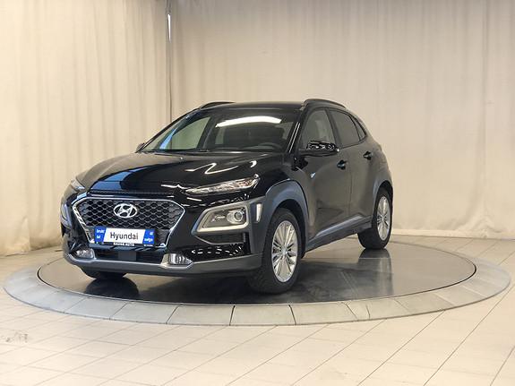 Hyundai Kona 1,0 T-GDI Teknikkpakke Skinn  2019, 100 km, kr 299000,-