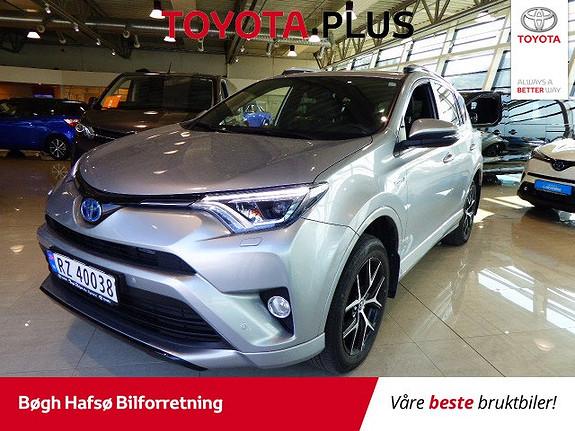 Toyota RAV4 Hybrid AWD Active Style m/DAB+ og Navi  2017, 44000 km, kr 419000,-