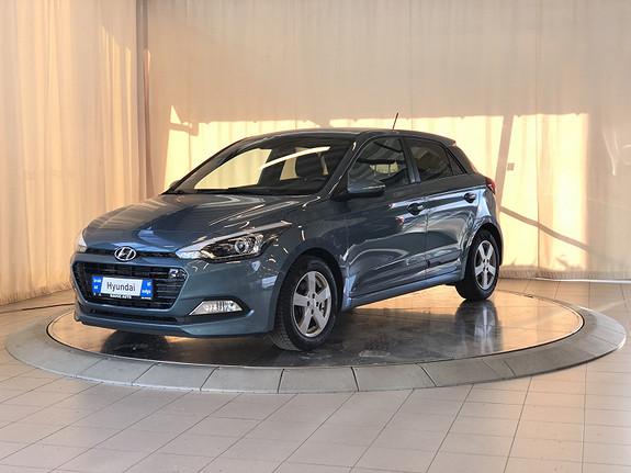 Hyundai i20 1,0 T-GDI GO!  2017, 32000 km, kr 169000,-