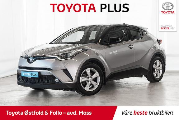 Toyota C-HR 1,8 WT-i Hybrid Dynamic Tech /MYE UTSYR/HISTORIKK  2017, 45000 km, kr 298000,-
