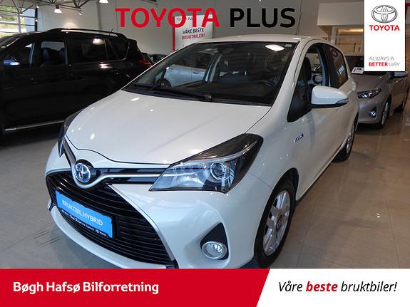 Toyota Yaris 1,5 Hybrid Active e-CVT m/DAB+ og Navi  2016, 34000 km, kr 189000,-