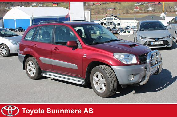 Toyota RAV4 D-4D 4wd  2004, 223583 km, kr 39900,-