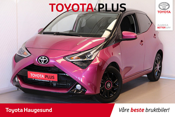 Toyota Aygo x-cite 1.0  2018, 3006 km, kr 175000,-