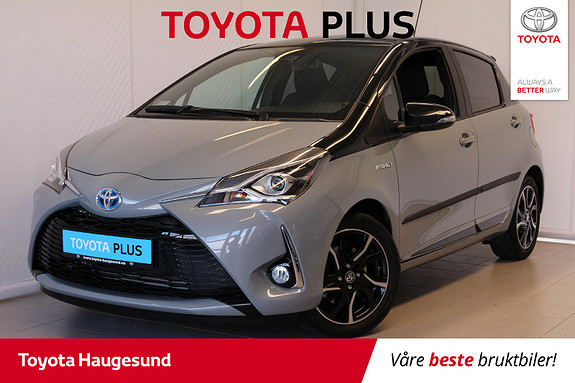 Toyota Yaris 1,5 Hybrid Bi Tone e-CVT aut  2018, 9508 km, kr 229000,-