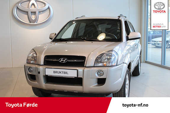 Hyundai Tucson 2,0 CRDI GLS 4wd Skinn, EU-Godkjent i April  2007, 161256 km, kr 79000,-