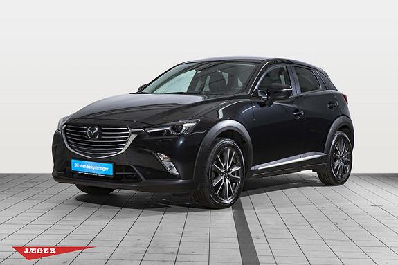 Mazda CX-3 2,0 120hk Optimum  2016, 40500 km, kr 229000,-