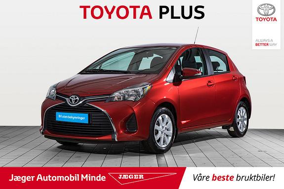 Toyota Yaris 1,33 Active S  2015, 8510 km, kr 139000,-