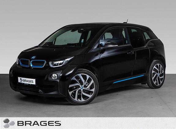 BMW i3 94Ah Fully Charged Edition NaviPro, Soltak, Skinn+++  2017, 11400 km, kr 269000,-