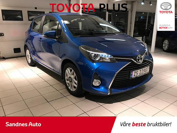 Toyota Yaris 1,0 Active  2015, 73600 km, kr 140000,-