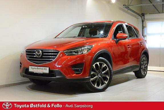 Mazda CX-5 2,0 160hk Optimum AWD aut. , HENGERFESTE,  2015, 79800 km, kr 318000,-