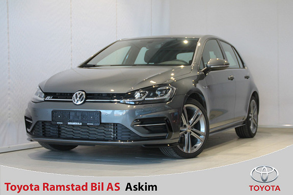 Volkswagen Golf 2,0 TDI 150hk Highline 4MOTION DSG R-Line  2018, 6400 km, kr 399000,-