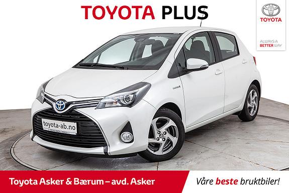 Toyota Yaris 1,5 Hybrid Active S e-CVT LAV KM  2016, 28200 km, kr 163000,-