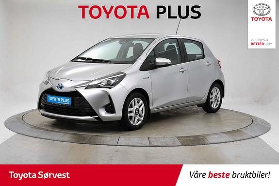 Toyota Yaris 1,5 Hybrid Active e-CVT  2017, 44288 km, kr 189000,-