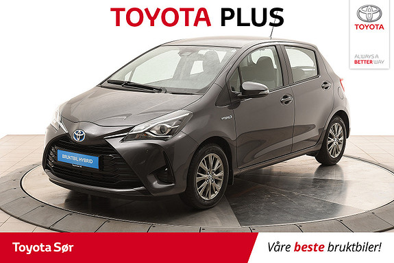 Toyota Yaris 1,5 Hybrid Active S e-CVT  2017, 22500 km, kr 185000,-