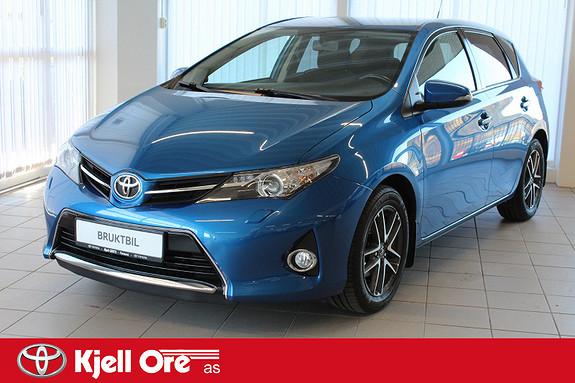 Toyota Auris 1,33 Dual VVT-i  Active m/ navi, ryggekamera, bt, dab+  2014, 41338 km, kr 159000,-