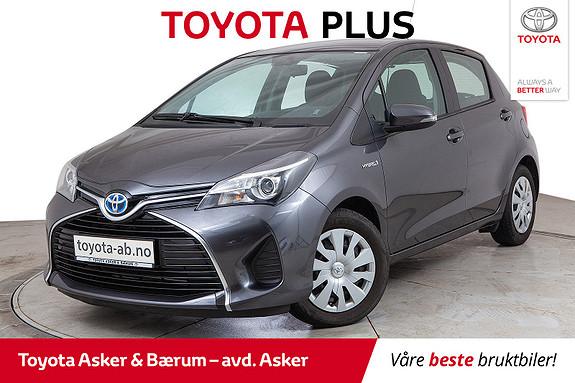 Toyota Yaris 1,5 Hybrid Active e-CVT  2015, 44500 km, kr 142000,-