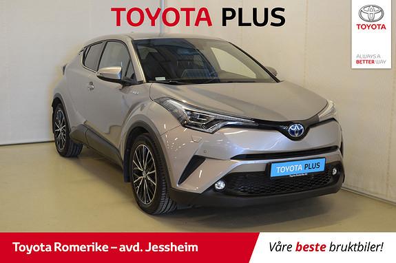 Toyota C-HR 1,8 VVT-i Hybrid Supreme Tech Delskinn, varme i ratt  2017, 14896 km, kr 329000,-