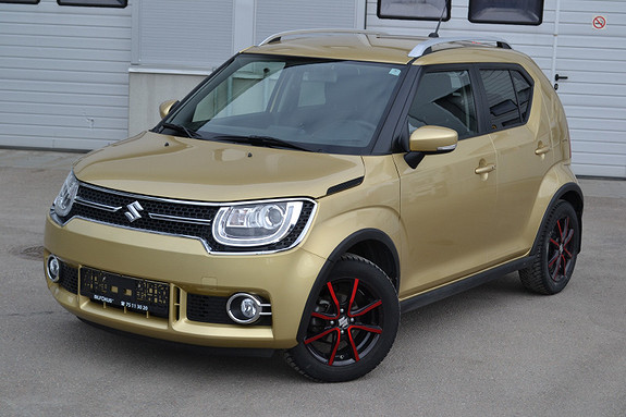 Suzuki Ignis 4x4 90hk GL  2017, 18381 km, kr 219000,-