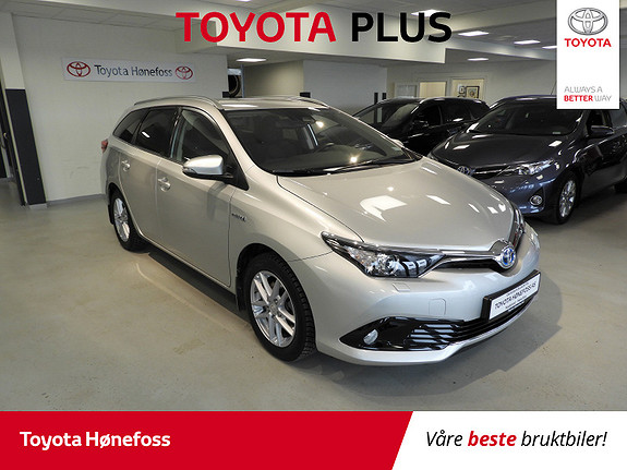 Toyota Auris Touring Sports 1,8 Hybrid Active DAB+, ISO-Fix, Navi  2017, 28 040 km, kr 229 000,-