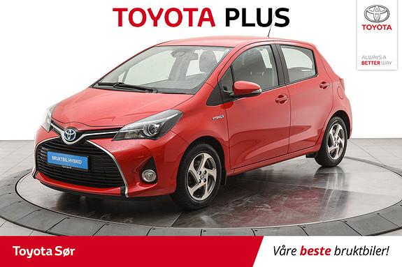 Toyota Yaris 1,5 Hybrid Active S e-CVT  2016, 38000 km, kr 169000,-