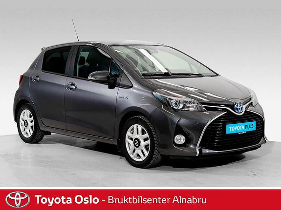Toyota Yaris 1,5 Hybrid Style e-CVT Toppmodell  2016, 42725 km, kr 174900,-