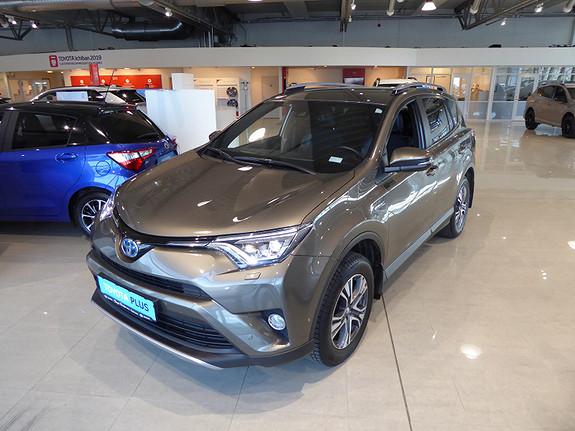Toyota RAV4 Hybrid 2WD Active Style m/DAB+ og Navi  2017, 25516 km, kr 379000,-