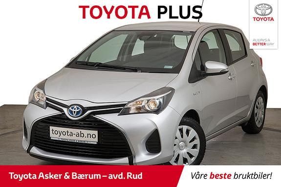 Toyota Yaris 1,5 Hybrid Active S e-CVT KAMPANJE  2015, 27100 km, kr 159000,-