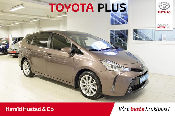 Toyota Prius+ Seven 1,8 VVT-i Hybrid Executive  2015, 47055 km, kr 279000,-