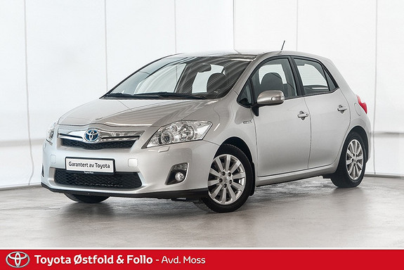 Toyota Auris 1,8 Hybrid E-CVT Executive / RYGGEKAM. / CRUISE /  2011, 62900 km, kr 128000,-