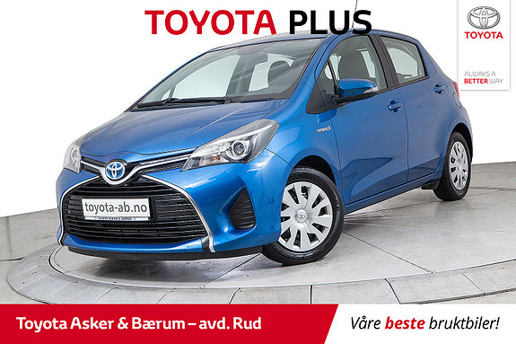 Toyota Yaris 1,5 Hybrid Active e-CVT INNBYTTEKAMPANJE  2015, 43700 km, kr 149000,-