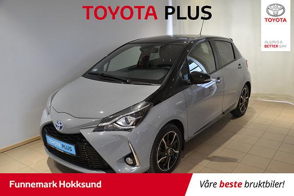 Toyota Yaris 1,5 Hybrid Bi Tone e-CVT aut  2018, 22120 km, kr 229000,-