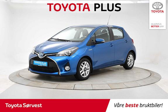 Toyota Yaris 1,5 Hybrid Active Go e-CVT aut  2017, 34839 km, kr 179000,-
