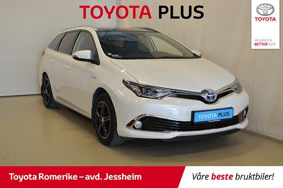 Toyota Auris Touring Sports 1,8 Hybrid Executive Panoramatak, skinn,  2016, 70689 km, kr 219000,-