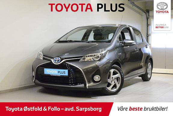Toyota Yaris 1,5 Hybrid Active S e-CVT , Safety Sense,  2016, 34300 km, kr 168000,-