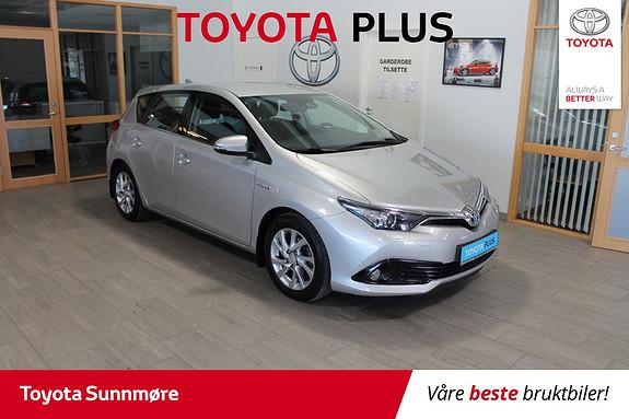 Toyota Auris 1,8 Hybrid E-CVT Active **VELHOLDT**NYBILGARANTI**NAVI*  2017, 49916 km, kr 219000,-