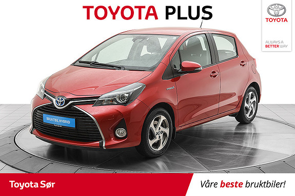 Toyota Yaris 1,5 Hybrid Active S e-CVT Meget lav km stand,  2016, 15000 km, kr 169000,-