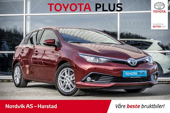 Toyota Auris 1,8 Hybrid E-CVT Active Sport NAVI, CRUISE, RYGGEKAMERA  2017, 44992 km, kr 253000,-