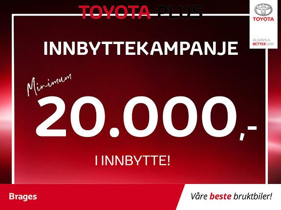 Toyota Auris 1,8 Hybrid E-CVT Active S Navi, R.kamera, DAB+, Cruise  2017, 41600 km, kr 215000,-