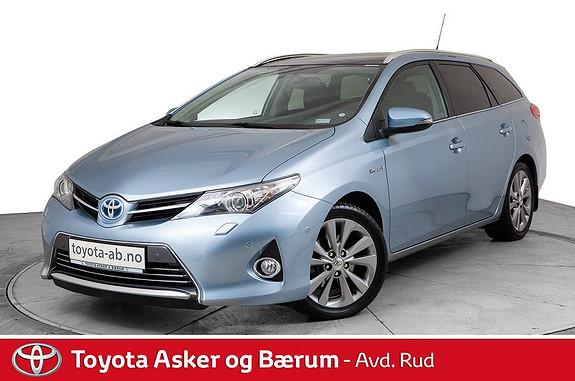 Toyota Auris Touring Sports 1,8 Hybrid Executive Panoramatak  2014, 67000 km, kr 179000,-