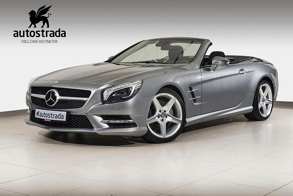 Mercedes-Benz SL 350 AMG/Ad.cruise/Keyless/Command++  2013, 85300 km, kr 648000,-