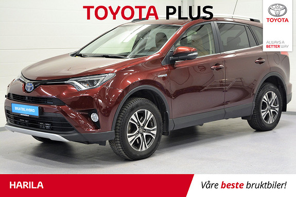 Toyota RAV4 Hybrid AWD Executive  2016, 35 595 km, kr 419 000,-