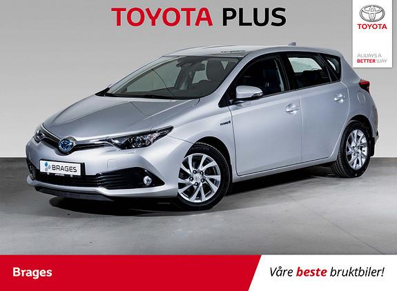 Toyota Auris 1,8 Hybrid E-CVT Active S Navi, Cruise, DAB+, R.kamera  2017, 25600 km, kr 235000,-