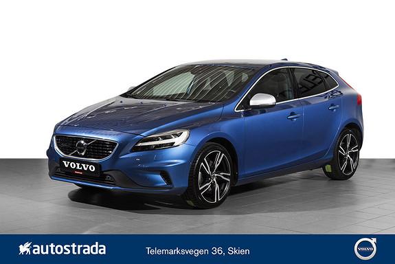 Volvo V40 T2 R-Design Adaptive Cruise/VOC/Herman-Kardon/Kamera++  2017, 25534 km, kr 269000,-